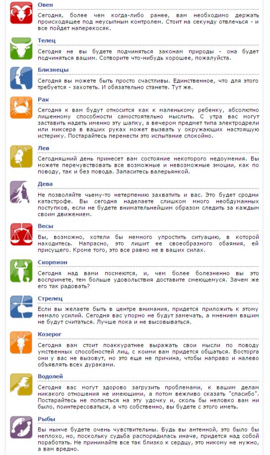 Онлайн гороскоп на 2016 года по зодиакам