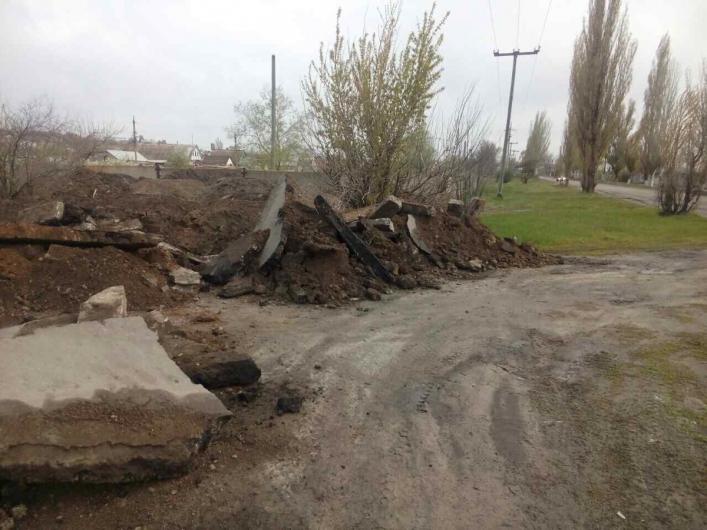 Жители Запорожской области собираются перекрыть дороги (ФОТО-ВИДЕО)