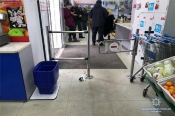 В центре Киева в женщину выстрелили прямо в супермаркете