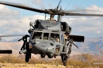 В Ираке потерпел крушение американский военный вертолет