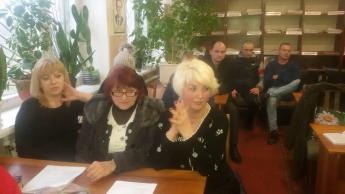 Попытка уменьшить количество округов в Мирном одному из будущих кандидатов не удалась (фото)